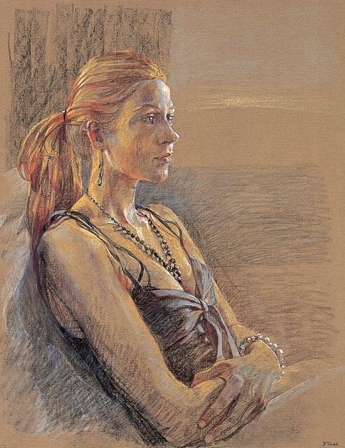 Daisy Collins, 2007 (61 x 40.6 cms - 24 x 16 ins)