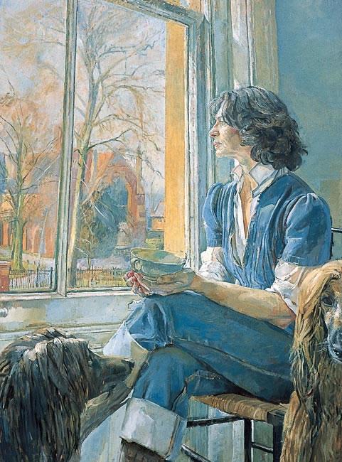 Dr Polly Matzinger, 1984 - 101.6 x 76.2 cms