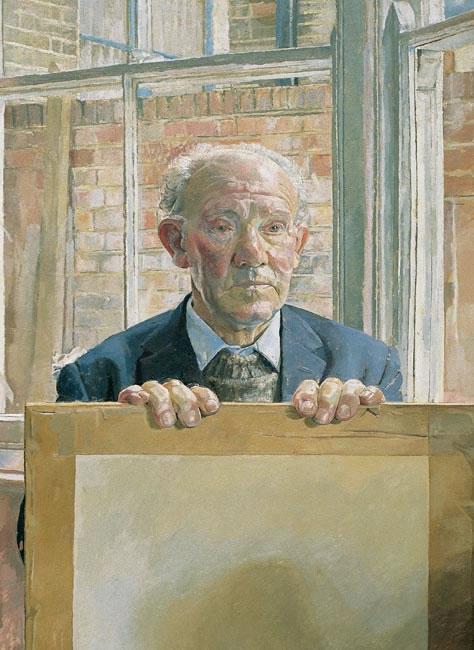 Mr Stoner, Waiting, 1982 - 76.2 x 55.9 cms