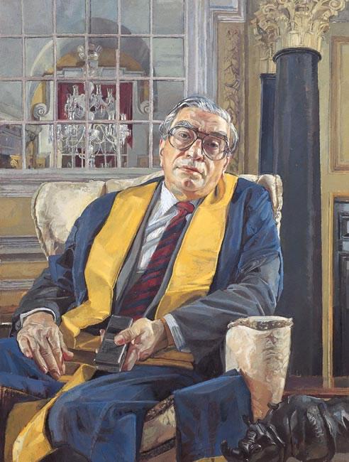Dr Ian Field CBE, 1994 - 101 x 76.2 cms