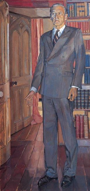 Sir Christopher Ondaatje 1995 - 152.4 x 73.7 cms