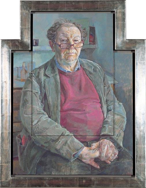 William Packer, Art Critic, Financial Times 2006 - 73.7 x 54.6 cms