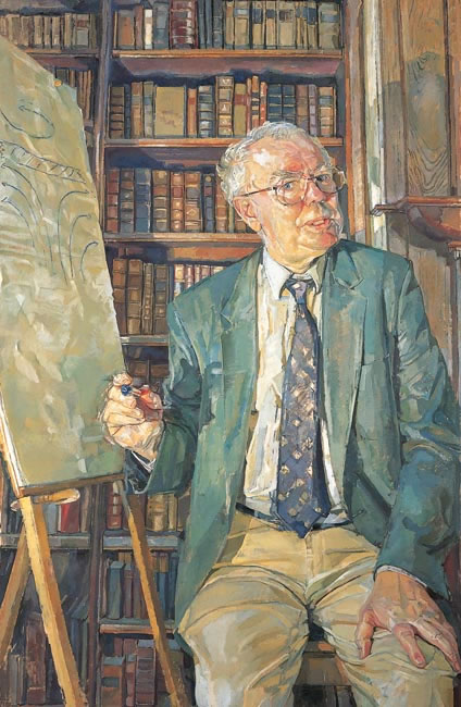 Professor John Albery FRS, 1997 - 114.3 x 76.2 cms