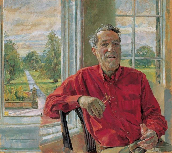 Charles Foster Esq, Arley Hall, 2004 - 76.2 x 63.5 cms