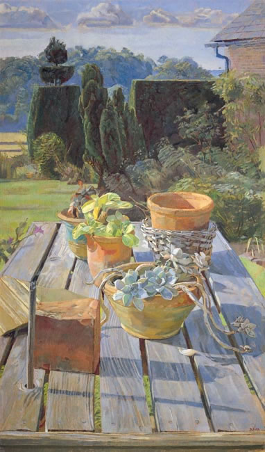 Garden Still-Life, 2000 (101.6 x 58.4 cms - 40 x23 ins)