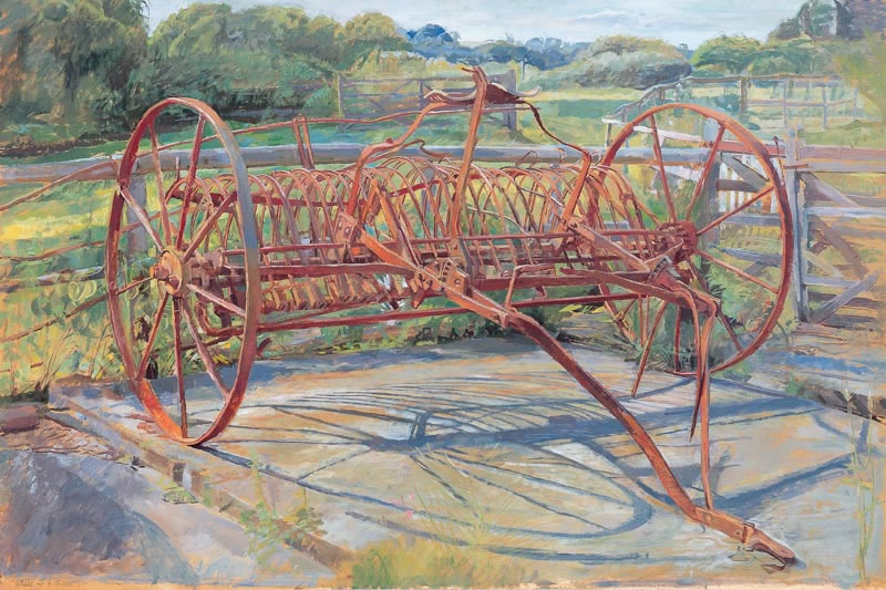Old Hay Rake, 2003 (58.4 x 88.9 cms - 23 x 35 ins)