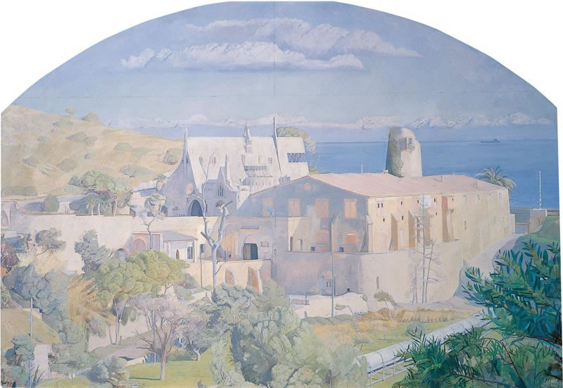 Gaudi at Garraf, with Industrial Tube, Spain 1976 (203.2 x 304.8 cms - 80 x 120 ins)